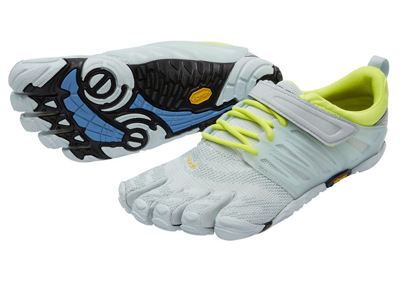 V-TRAIN PALEBLUE-SAFTYYELLOW for Women