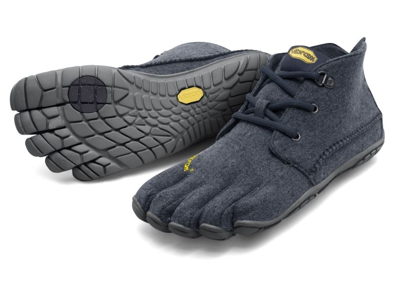 CVT WOOL NAVY GRAY