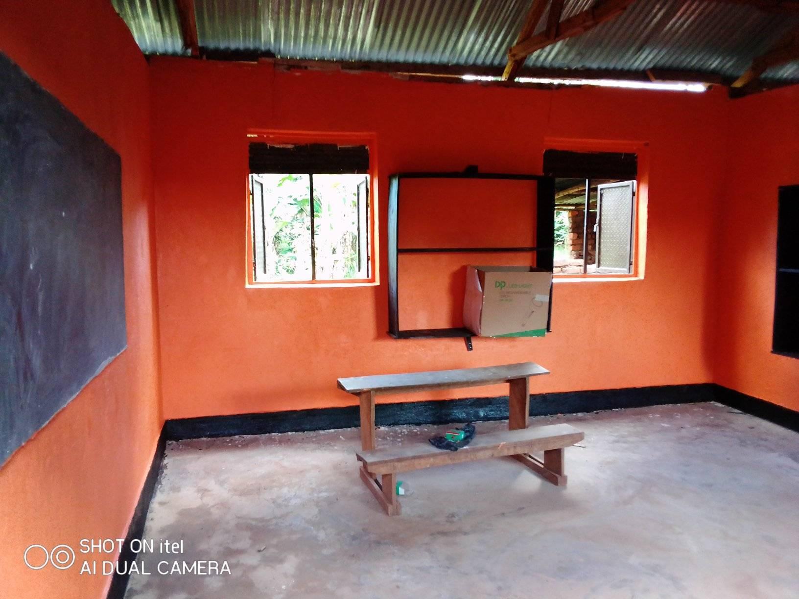 Fertige Klassenräume der Vine Parents School Nursery & Primary