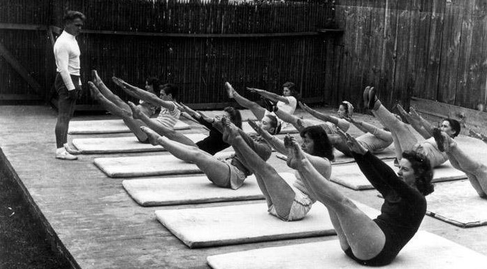 'It is the mind itself which builds the body,' Joseph H. Pilates.
