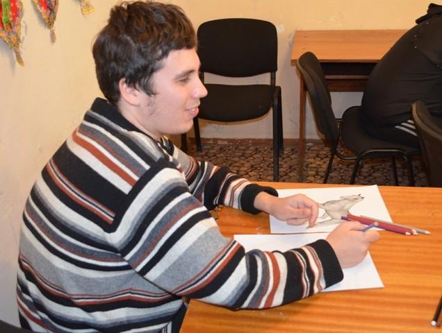 Иван рисует хозяйку следующего года - Лошадь