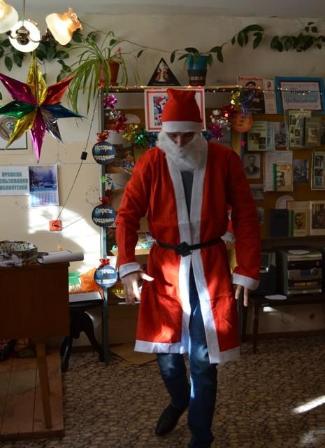 Зажигательный танец Деда Мороза