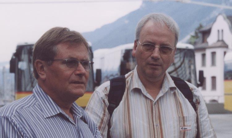 Peter Peterlin und Gian Bott