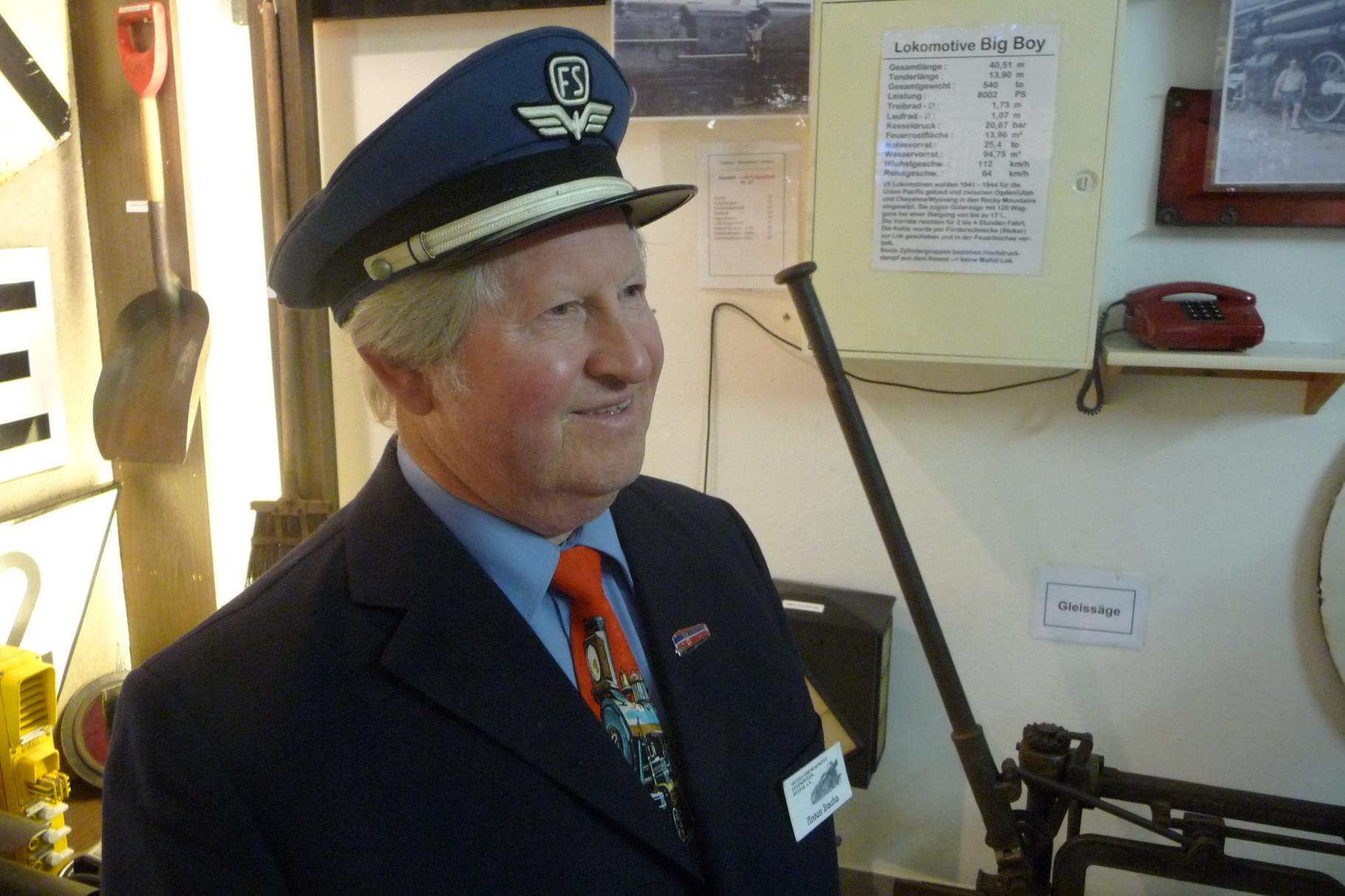 Clubmitglied Anton Dachs 2011