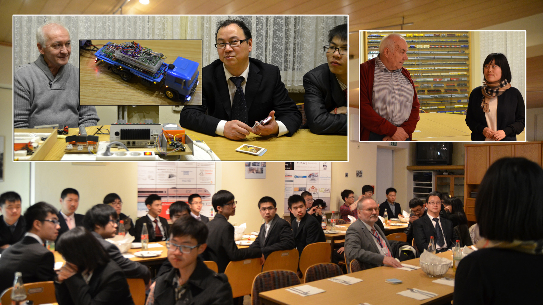 19.02.2014: 36-köpfige Delegation vom BBZ Shanghai besucht den MEC