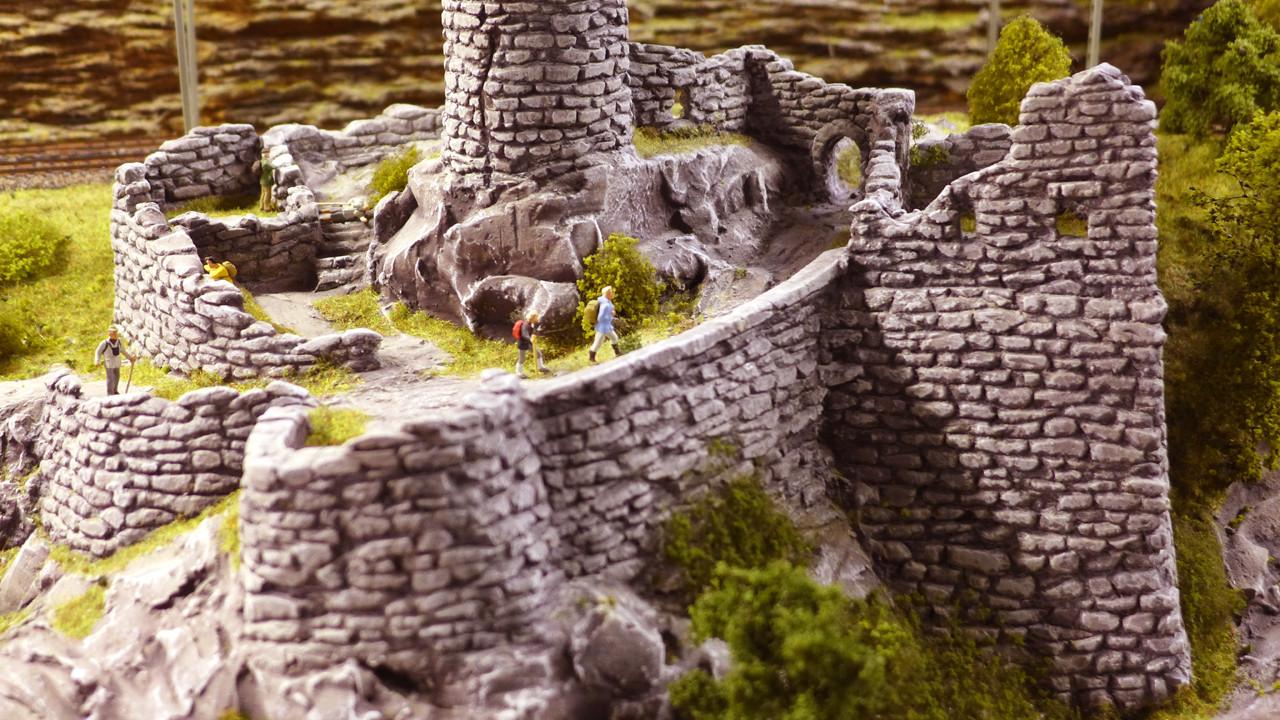 Gerhards Ruine ist ein beliebtes Zeil für viele Wanderer