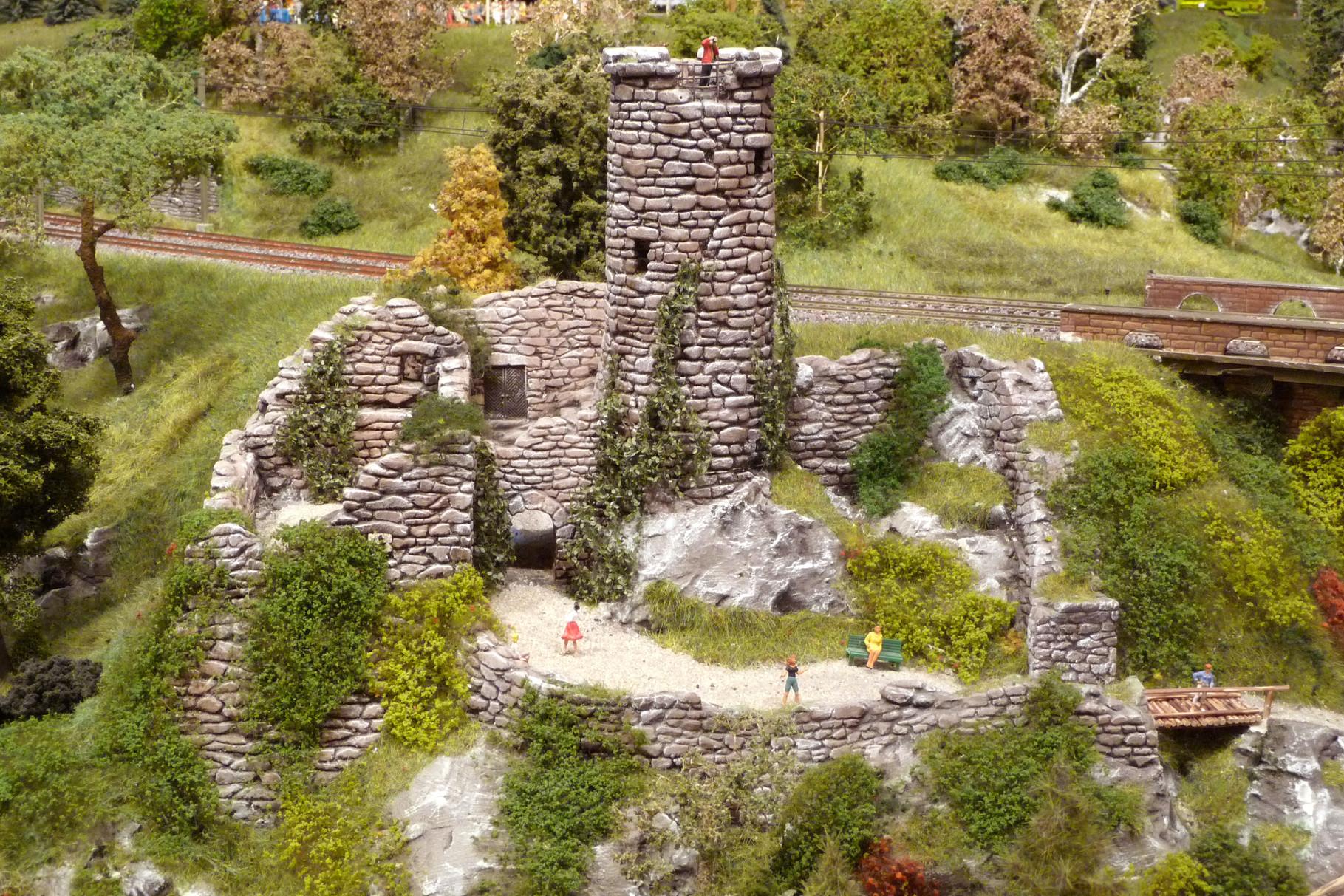 Gesamtübersicht von Gerhards Ruine