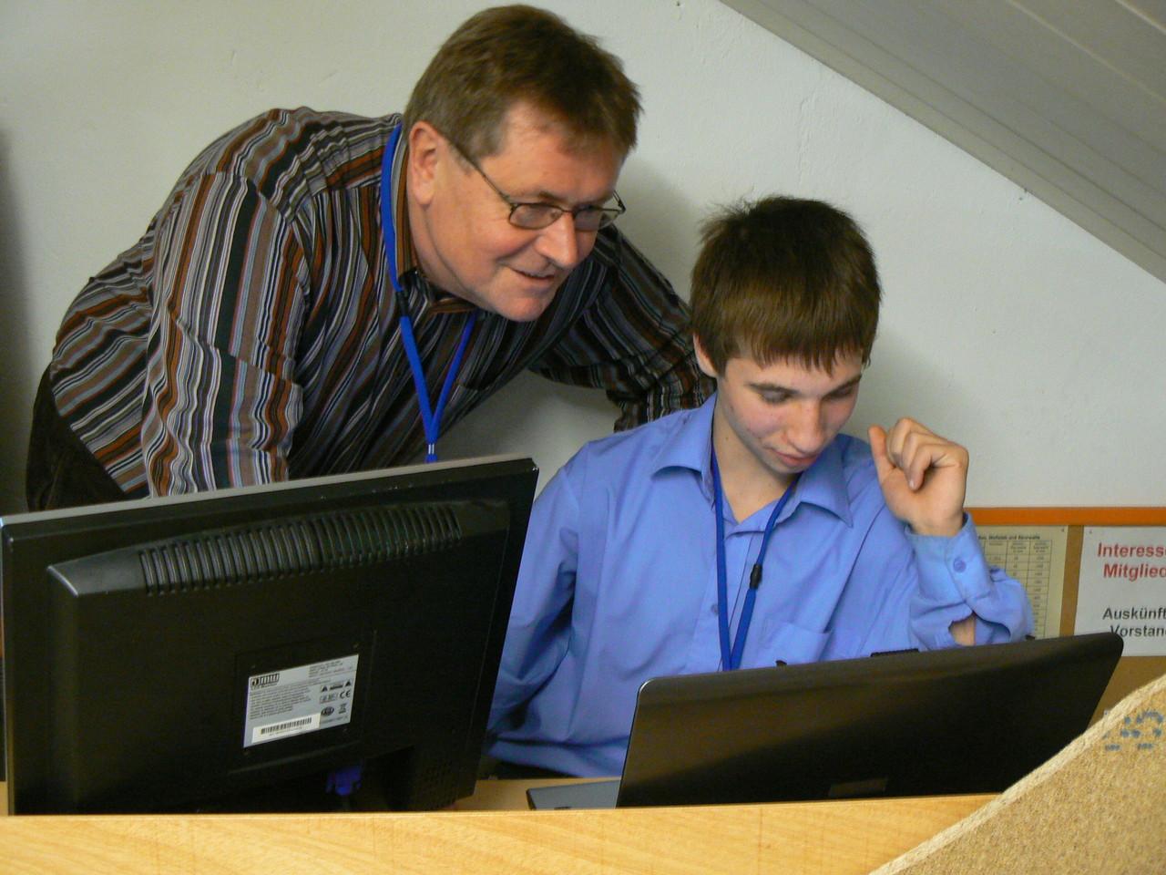 Peter Peterlin ist beeindruckt von der Jugendarbeit beim MEC-Eggenfelden