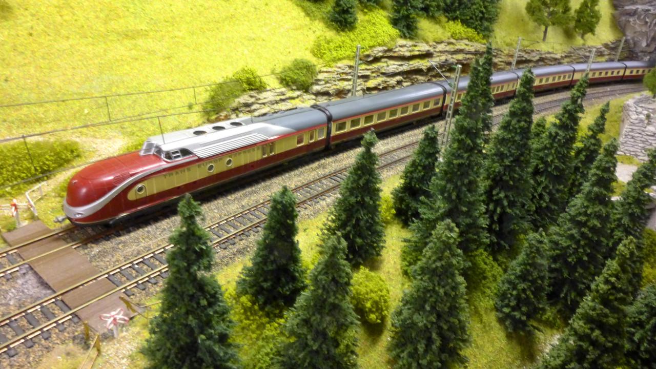 VT11.5 von Roco auf der Fahrt von Westheim nach Baden-Baden