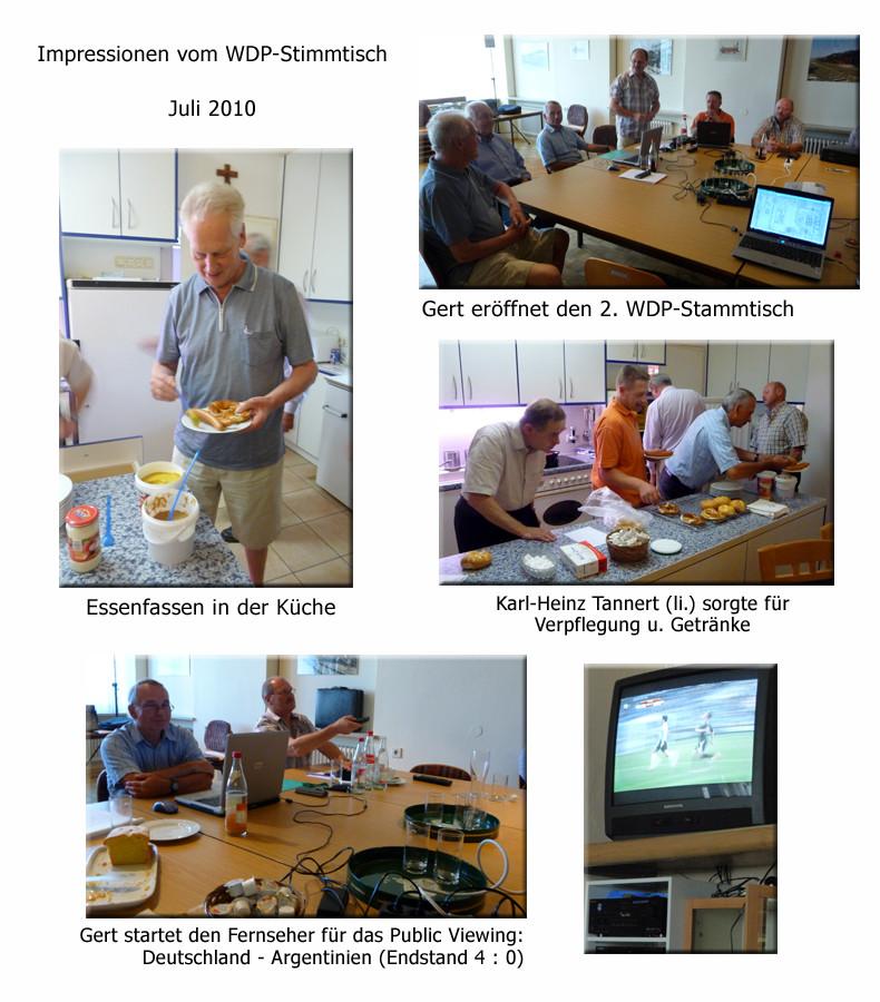 Impressionen WDP-Anwendertreffen 2010 in Eggenfelden