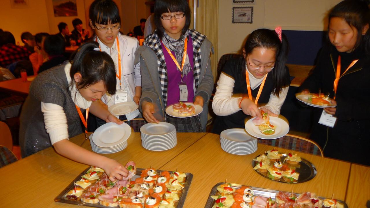 2011: Abendessen im Club auf Einladung des Bürgermeisters