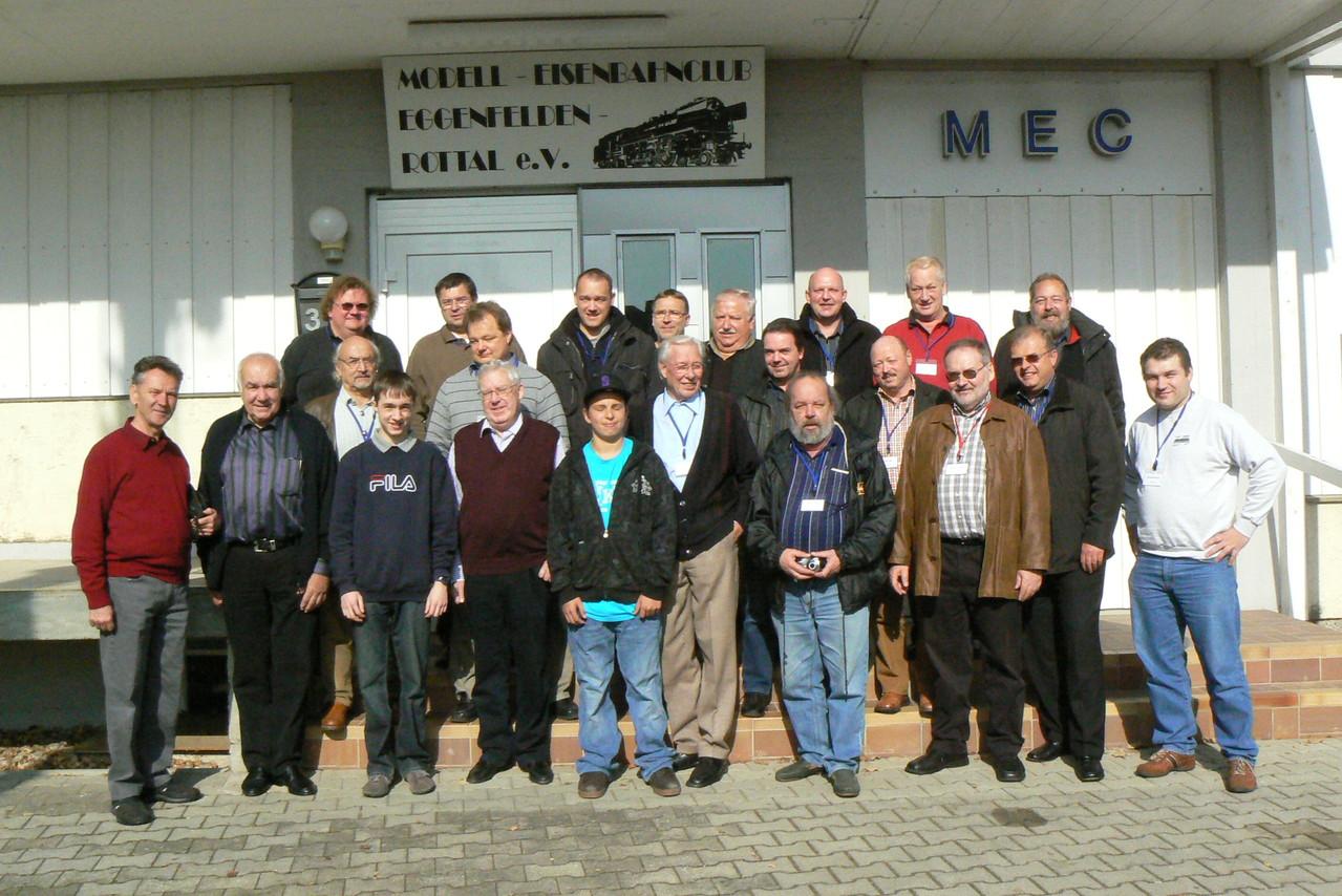 Gruppenfoto beim 2. Win-Digipet-Anwendertreffen in Eggenfelden