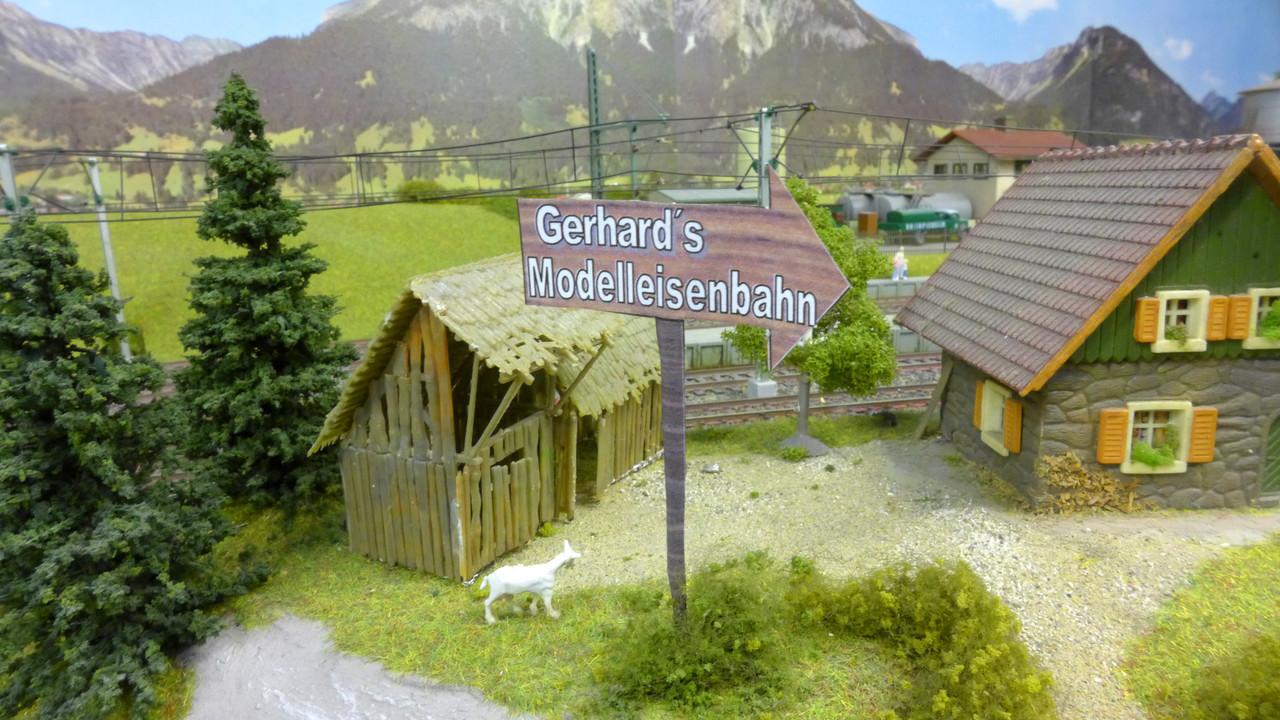 """Titelbild vom Video: """"Gerhards große Modelleisenbahn"""""""