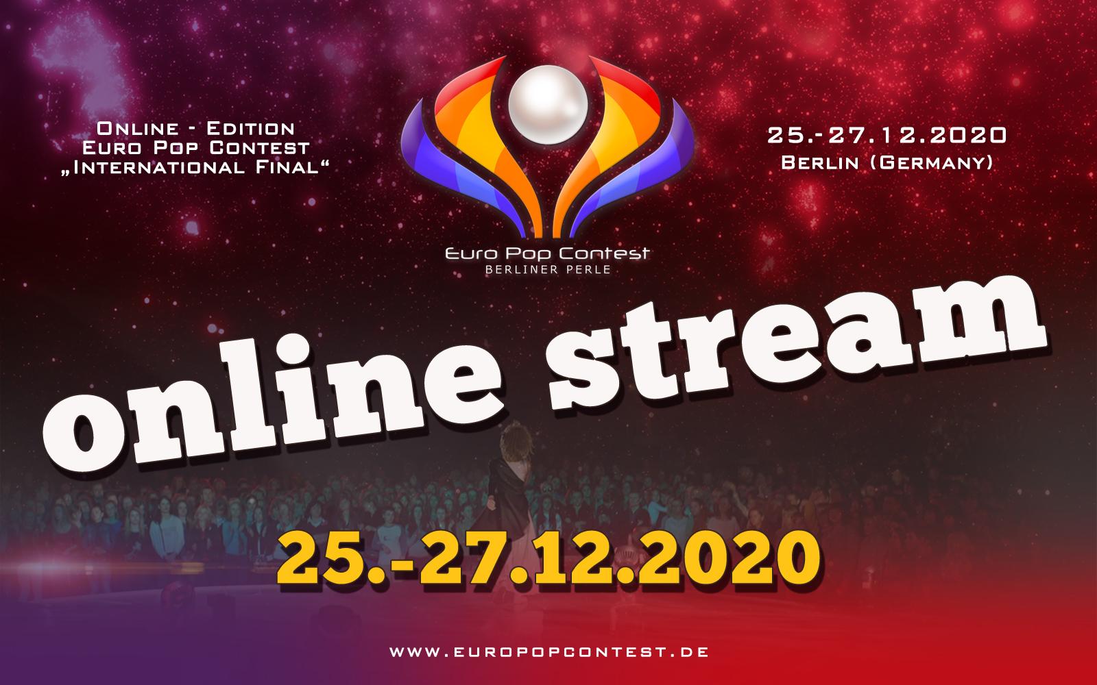 EPC 2020: Online - Stream bei Youtube und Facebook