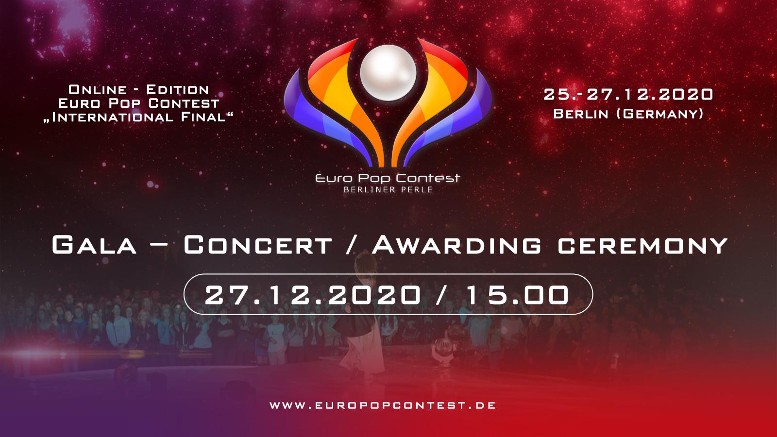 EPC 2020: Galakonzert - Online Stream