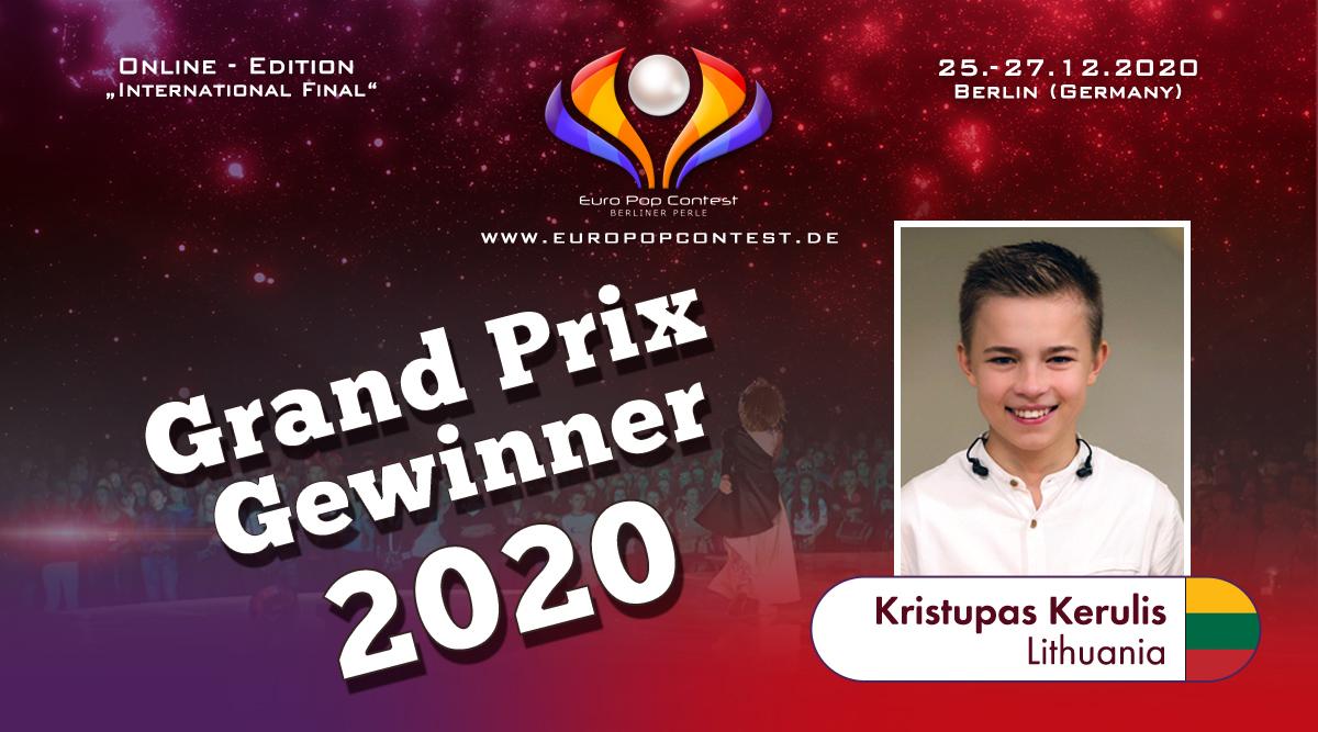 EPC 2020: Kristupas Kerulis ist unser Gewinner 2020!