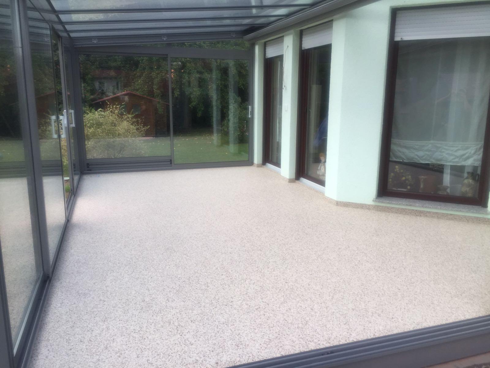 Steinteppich bei Eisenach im Wintergarten