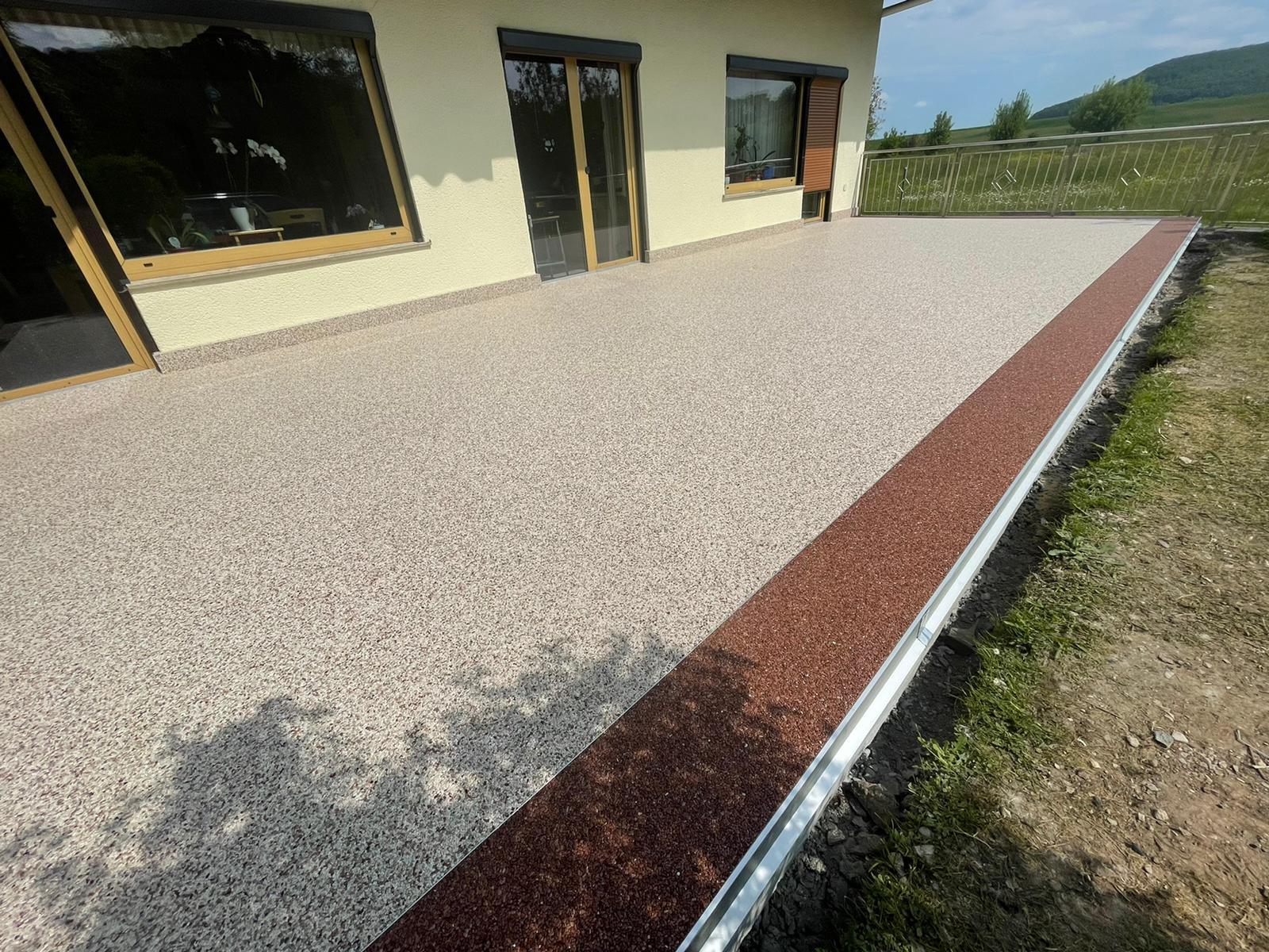 Steinteppich in Friedewald in Hessen! 50 m²