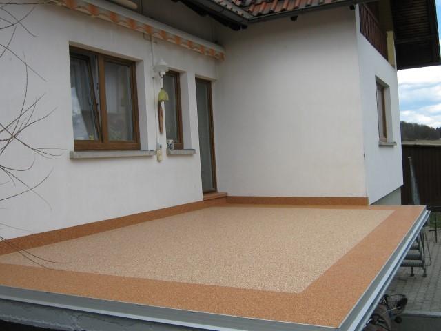 Steinteppich in Ilmenau zweifarbig