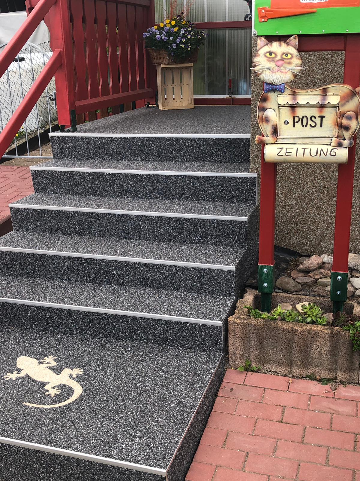 Treppensanierung bei Gotha