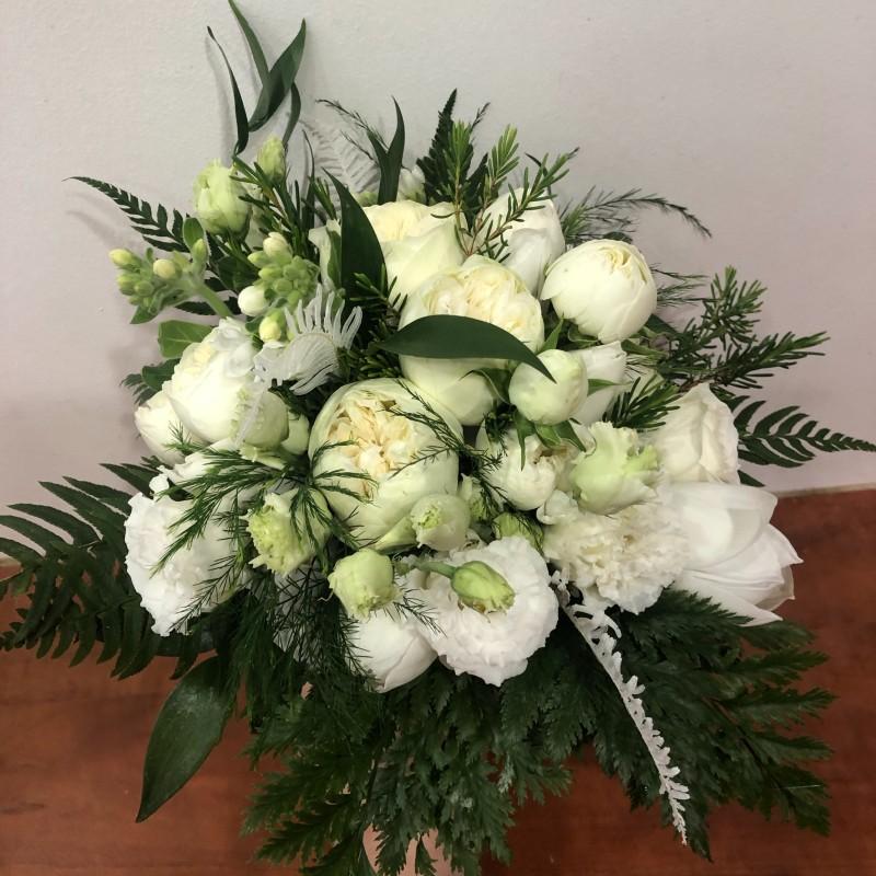 Bouquet de mariée forêt enchantée