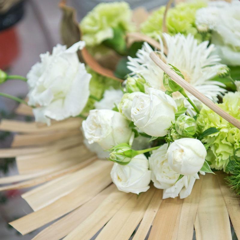 Bouquet rond Angélique