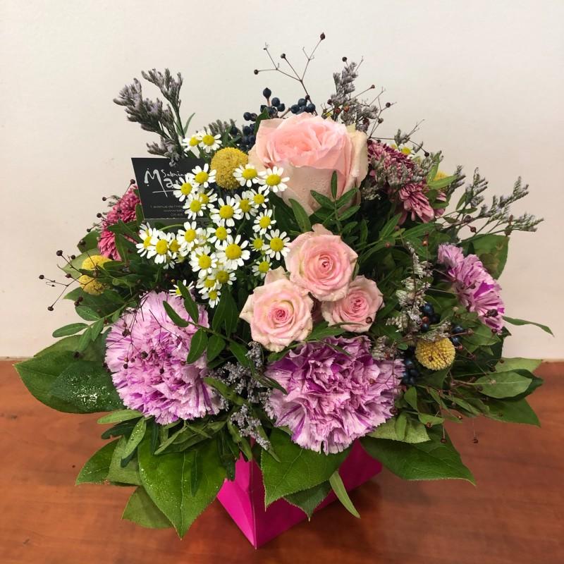 Bouquet rond Tessa
