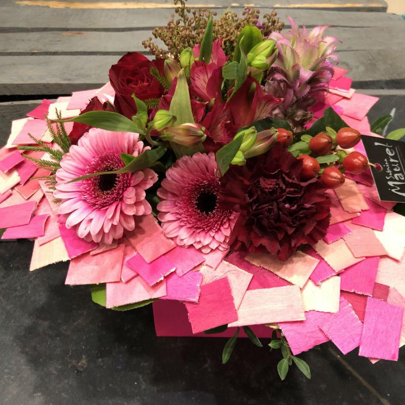 Bouquet rond Eros