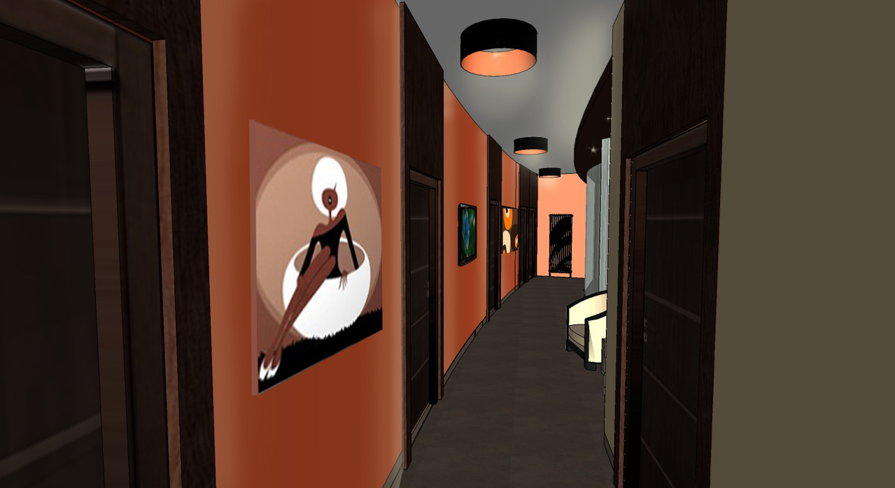 Centre de bien-être à HIRSON - couloir