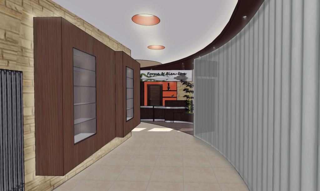 Centre de bien-être à HIRSON - hall d'entrée