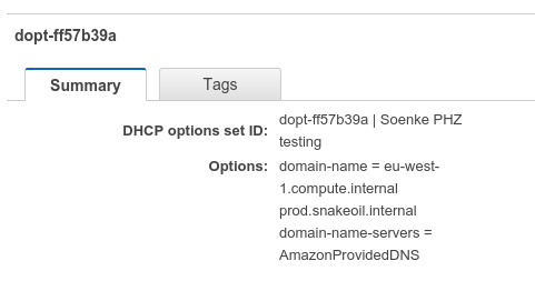 Simple service discovery using AWS Private Hosted Zones - Jimdo Dev Blog