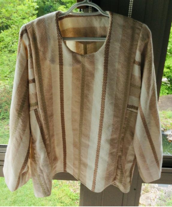 Hazel's Handwoven Tunic Blouse
