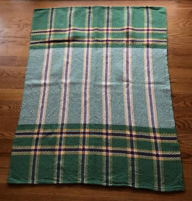 Susan's Latest Woven Baby Blanket