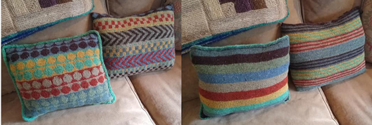 Elyse's Colorful Pillows