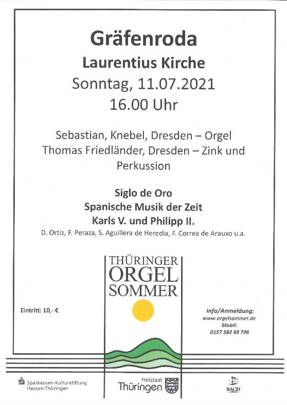 Thüringer Orgelsommer