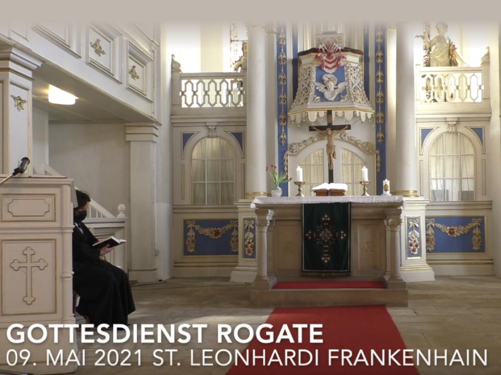 Gottesdienst ROGATE in Frankenhain