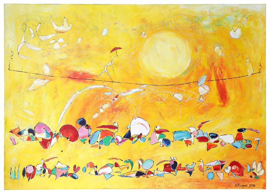Tanz Im Licht - 140x100cm - 690 Euro