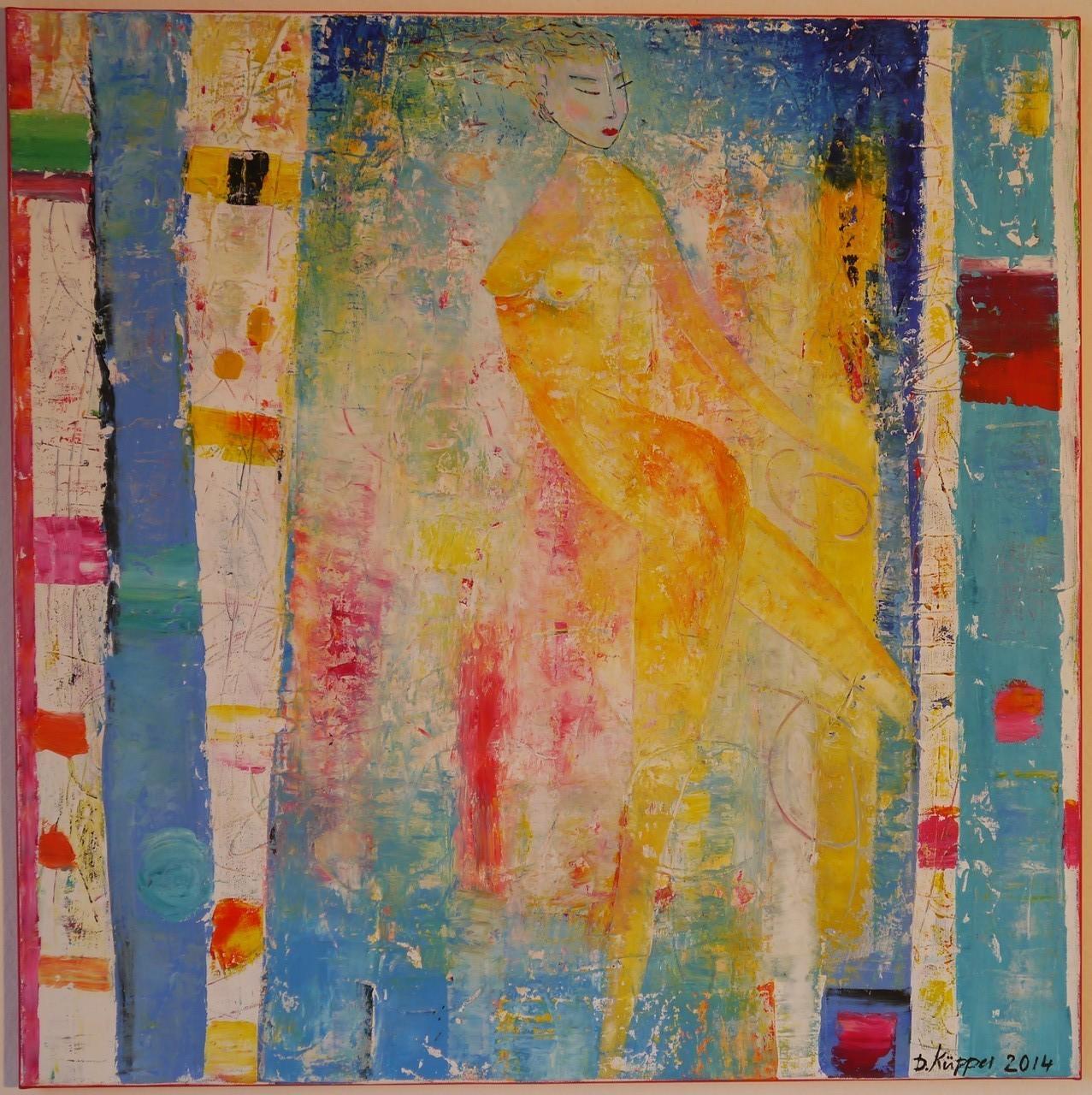 """""""Tanz"""" - 70x70cm - Preis: 240 Euro"""