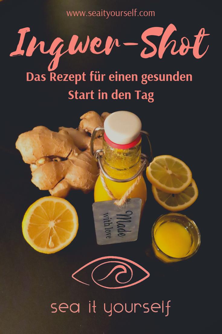 Ingwer-Shot: Das Rezept für einen gesunden Start in den Tag