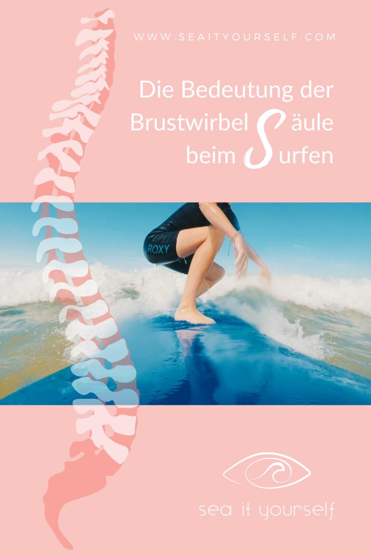 Die Bedeutung der Brustwirbelsäule beim Surfen