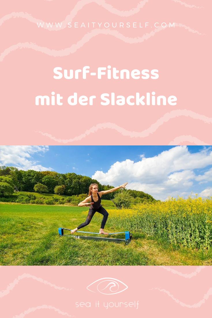 Surf-Fitness mit der Slackline