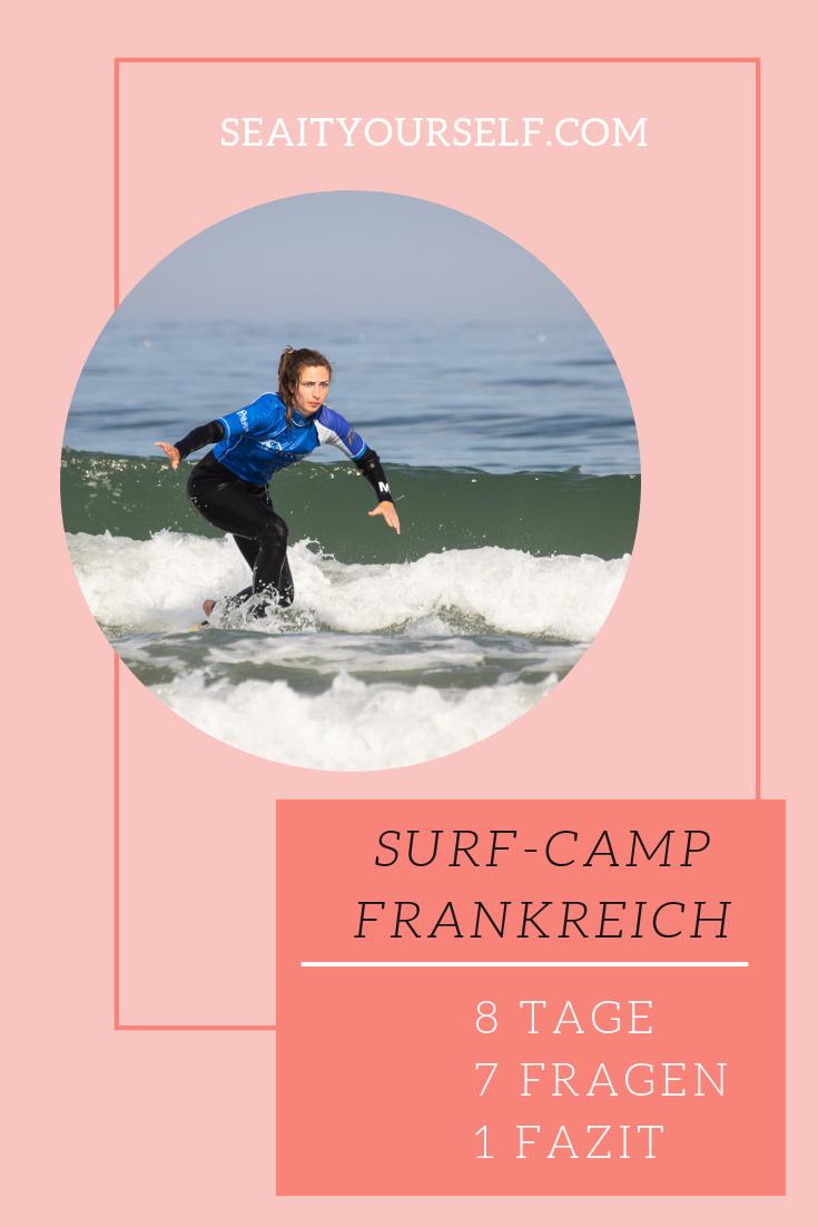 Surf-Camp Frankreich: 8 Tage - 7 Fragen - 1 Fazit