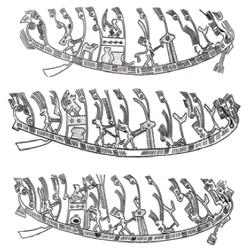 Fig. 4. Figurative scenes of boats