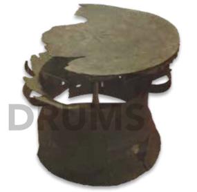 Fig. 8. Khu Bua broken bronze drum D50/H44 cm