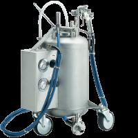 Технические требования: постоянное давление сжатого воздуха не ниже 3 бар.