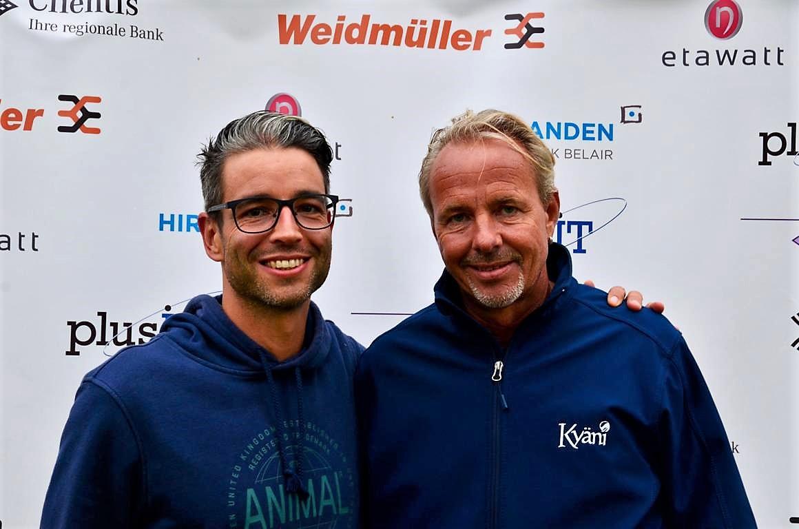 MS 35+ R1/R5: Claudio Holliger (S) - Stephan Bienz (F)