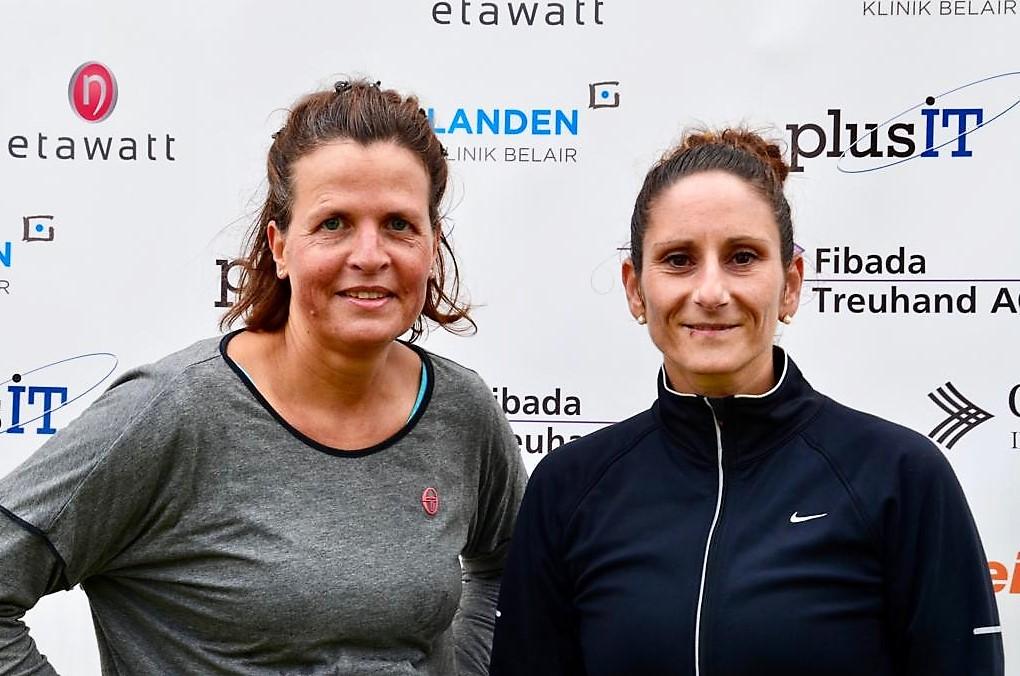 WS 30+ R6/R9: Eva-Maria Pouwer (S) - Monia Caputo-Gambino (F)