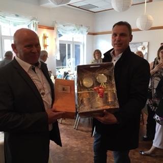Bürgermeister Pascale Guy und Bürgermeister Stephan Rausch