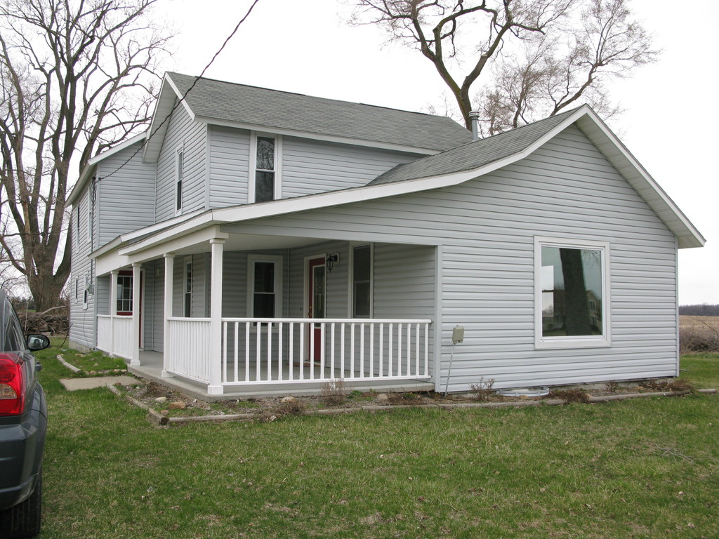 farmhouse - outside, finished
