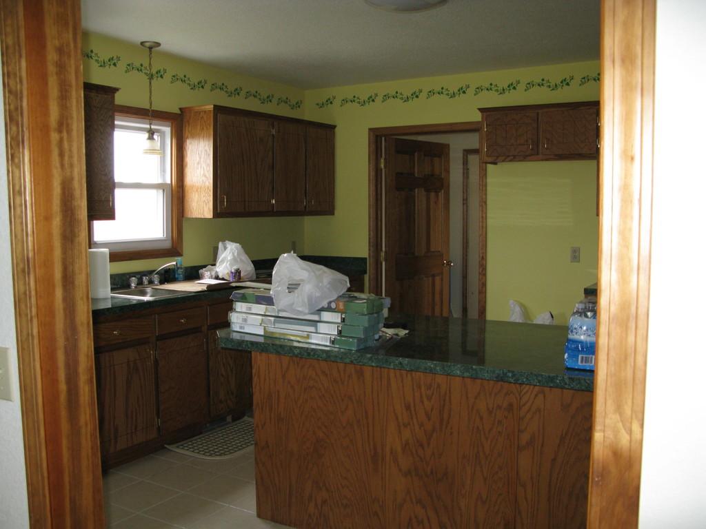 farmhouse - kitchen, finished